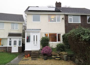 Thumbnail 4 bed semi-detached house for sale in Torre Close, Ivybridge