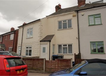 Thumbnail 2 bedroom terraced house for sale in Station Road, Leicester