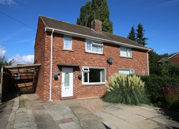 Thumbnail 2 bedroom semi-detached house for sale in Burwell Close, Lincoln