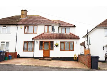 Thumbnail 5 bed semi-detached house for sale in North Downs Road, Croydon