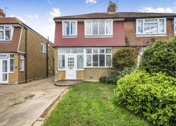 Thumbnail 3 bed semi-detached house for sale in Moor Lane, Chessington, Surrey