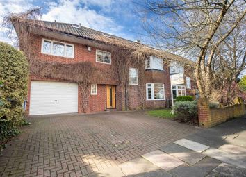 Thumbnail 5 bed semi-detached house for sale in Glastonbury Grove, Jesmond