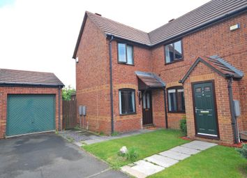 Thumbnail 2 bed semi-detached house for sale in Dene Court, Witton Gilbert, Durham