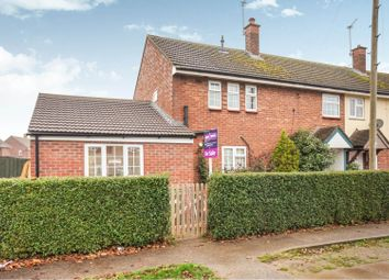Thumbnail 3 bed end terrace house for sale in Devonshire Road, Scampton, Lincoln
