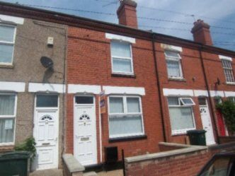 Thumbnail 4 bedroom terraced house to rent in Britannia Street, Coventry