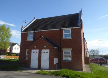 Thumbnail 2 bed flat for sale in Trinity Street, Rhostyllen, Wrexham