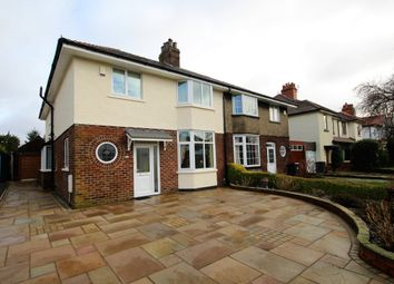 Thumbnail 4 bed semi-detached house for sale in Queensway, Penwortham, Preston