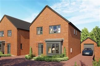 Thumbnail 4 bed detached house for sale in Bredon Road, Tewkesbury, Wiltshire