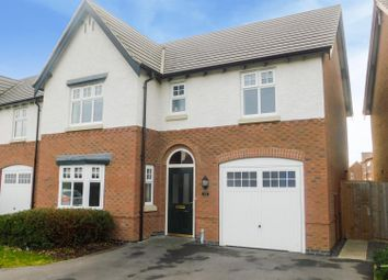 Thumbnail 4 bedroom detached house for sale in Speedway Close, Long Eaton, Nottingham