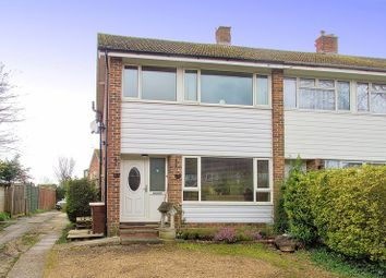 Thumbnail 3 bed terraced house for sale in Westergate, Chichester