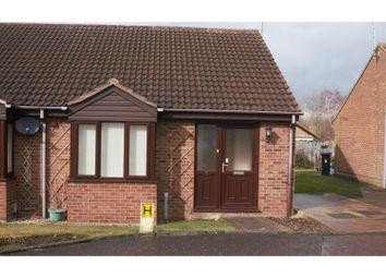 Thumbnail 2 bedroom semi-detached bungalow for sale in Beverstone, Peterborough