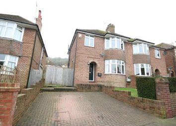 Thumbnail 3 bed semi-detached house for sale in Sancroft Road, Eastbourne, East Sussex