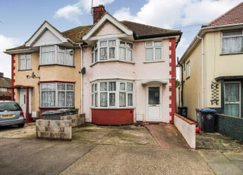 Thumbnail 3 bed semi-detached house to rent in Victoria Avenue, Wembley