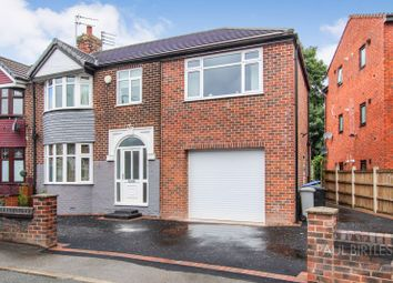 Thumbnail 4 bed semi-detached house for sale in Winster Avenue, Stretford, Manchester