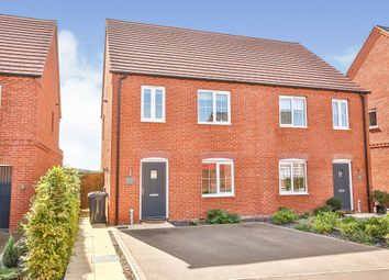 Thumbnail 3 bed semi-detached house for sale in Pollywiggle Drive, Swaffham