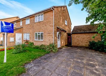 Thumbnail 2 bed semi-detached house to rent in Gulliver Close, Kempston, Bedford