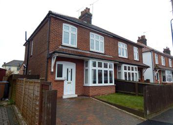 Thumbnail 3 bedroom semi-detached house to rent in Queens Road, Felixstowe