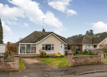 Thumbnail 2 bedroom detached bungalow for sale in Brecklands, Mundford, Thetford