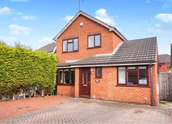Thumbnail 3 bed detached house for sale in Perivale Close, Nuthall