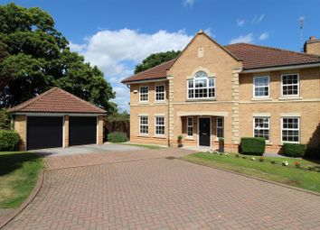 Thumbnail 5 bed detached house for sale in Abingdon View, Worksop