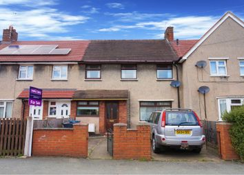 Thumbnail 3 bed terraced house for sale in Ffordd Llanerch, Wrexham
