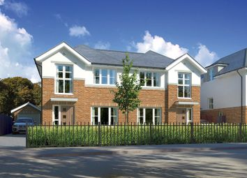 Thumbnail 4 bed semi-detached house for sale in Plot 12 Grove Road, Lymington, Hampshire
