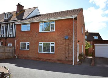 Thumbnail 2 bed maisonette for sale in Cranford Avenue, Exmouth, Devon