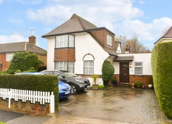 Thumbnail 4 bed detached house for sale in Headley Drive, Epsom
