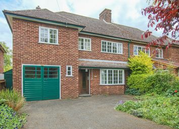Thumbnail 5 bed semi-detached house for sale in Cambridge Road, Barton, Cambridge