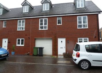 Thumbnail 4 bed terraced house to rent in Blakeslee Drive, Exeter