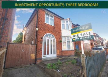 3 bed detached house for sale in Queens Road, Clarendon Park, Leicester LE2