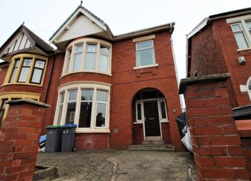 Thumbnail 1 bed flat to rent in Longton Road, Ground Floor, Blackpool, Lancashire