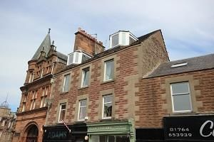 Thumbnail 2 bed flat to rent in Flat 3, 38 High Street, Crieff