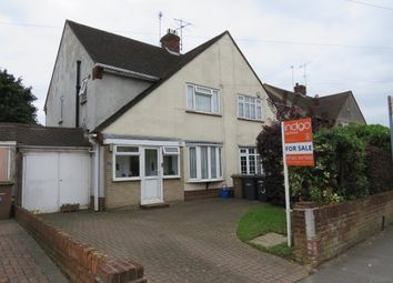 Thumbnail 3 bed semi-detached house for sale in Bushmead Road, Luton