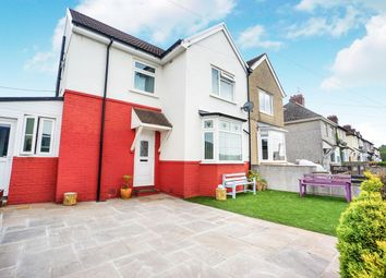 Thumbnail 3 bed semi-detached house for sale in Fernlea, Risca, Newport