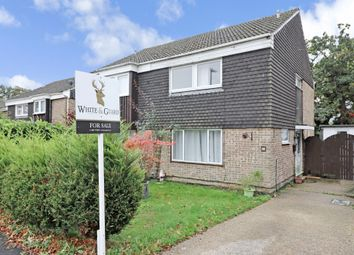Thumbnail 3 bed semi-detached house for sale in Downland Close, Botley, Southampton