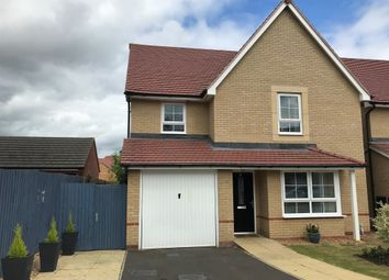 Thumbnail 4 bed detached house for sale in Howegate Drive, Hampton Vale, Peterborough