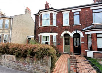 Thumbnail 4 bedroom end terrace house for sale in London Road South, Lowestoft