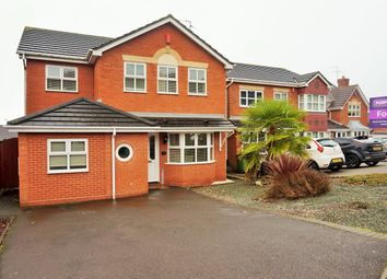 Thumbnail 4 bedroom detached house for sale in Chillington Drive, Milking Bank, Dudley