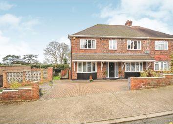Thumbnail 4 bed semi-detached house for sale in Elmlee Close, Chislehurst