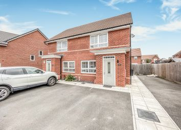 Thumbnail 2 bed semi-detached house for sale in Athelney Avenue, Westbury