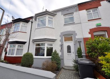 Thumbnail 3 bed terraced house for sale in Probyn Road, Wallasey
