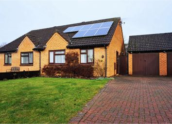 Thumbnail 2 bed semi-detached bungalow for sale in Shackleton Close, Market Deeping