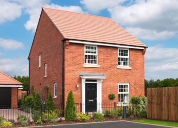 "Thumbnail 4 bed detached house for sale in ""Ingleby"" at Kensey Road, Mickleover, Derby"