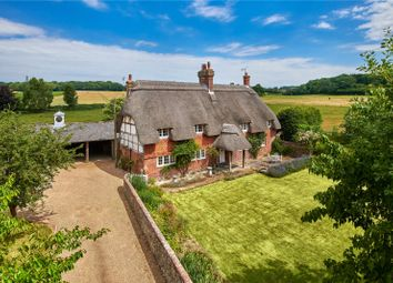 Thumbnail 4 bedroom detached house for sale in Dores Lane, Braishfield, Romsey, Hampshire