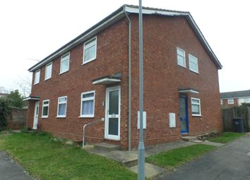 Thumbnail 2 bed flat to rent in Springland Close, Ipswich