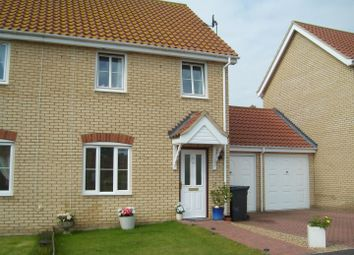 Thumbnail 3 bed semi-detached house for sale in Wells Way, Debenham, Stowmarket