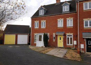 Thumbnail 3 bed terraced house to rent in Churchward Drive, Telford