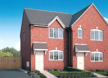 Thumbnail 2 bedroom semi-detached house for sale in Porthouse Rise, Tenbury Road, Bromyard