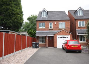 Thumbnail 4 bed detached house for sale in Nursery Gardens, Coalville
